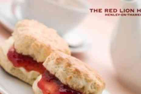 The Red Lion Hotel - Afternoon Tea For Two With Bubbly - Save 57%