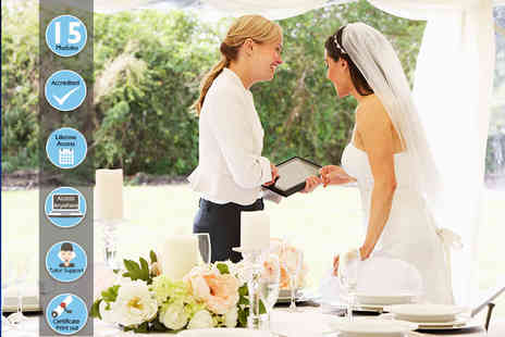 Centre of Excellence - Wedding planner business diploma course - Save 85%