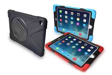 Groupon Goods Global GmbH - Rugged Case for iPad in Choice of Colour - Save 73%