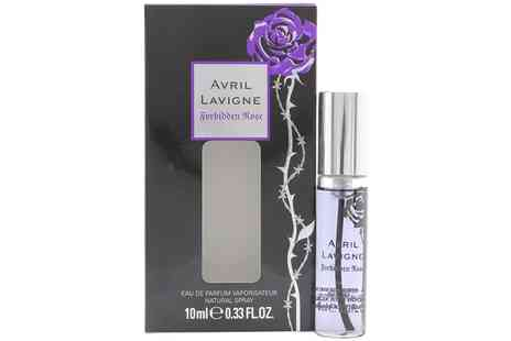 Groupon Goods Global GmbH - Avril Lavigne Forbidden Rose Eau de Parfum for Women 10ml Spray - Save 20%