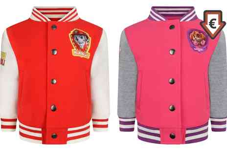Groupon Goods Global GmbH - Paw Patrol Themed Skye or Marshall Baseball Jacket - Save 0%