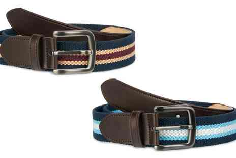Groupon Goods Global GmbH - Mens Canvas Belt - Save 31%