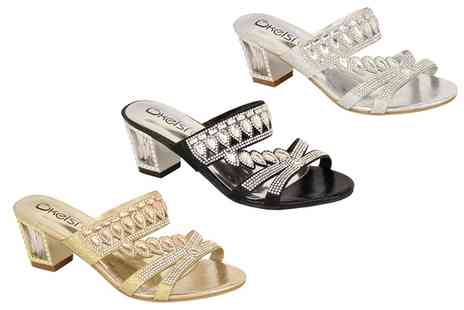 Groupon Goods Global GmbH - Womens DL25 Kelsi Sandals - Save 0%