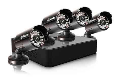 Groupon Goods Global GmbH - Swann DVR8 1525 8 Channel 960H Digital Video Recorder and PRO 615 CCTV Kit With Free Delivery - Save 34%