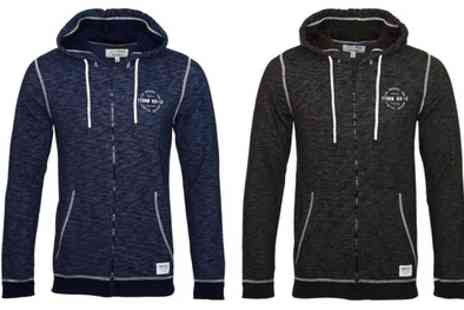 Groupon Goods Global GmbH - Tom Tailor Zip Up Hoodie - Save 0%
