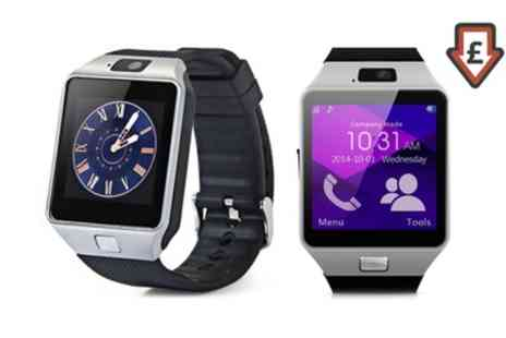 Groupon Goods Global GmbH - Apachie Bluetooth Smart Watch with Camera and Sim Card Function - Save 77%