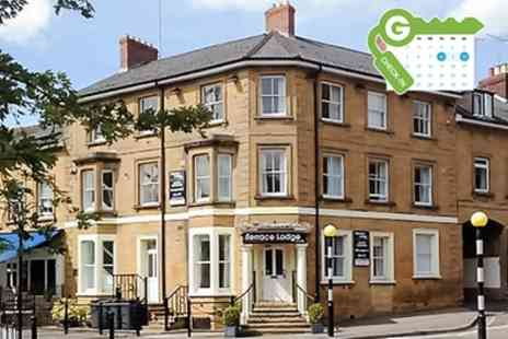 The Terrace Lodge Hotel - Somerset Stay for Two at The Terrace Lodge Hotel - Save 41%