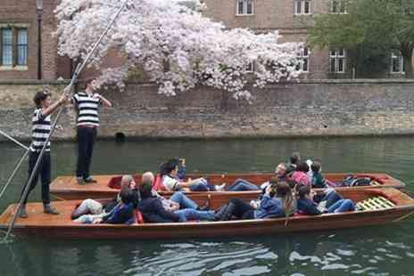 The Cambridge Punting Company - 45 Minute Cambridge Punting Tour Weekend or Midweek - Save 0%