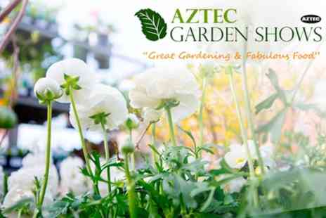 Aztec Events - Two or four tickets to Newbury Garden Show on 7 To 9 April - Save 53%
