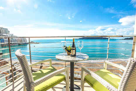 Hotel Aleksandar Rafailovici - Four Star Stay in  a Double Room with Sea View and Balcony - Save 0%