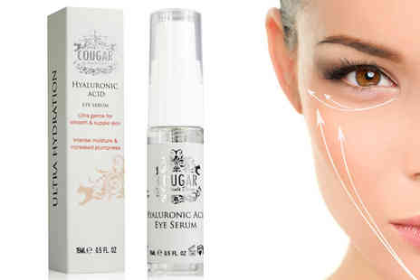 Cougar Beauty Products - Hyaluronic Eye Serum - Save 47%