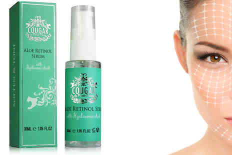Cougar Beauty Products - Aloe Retinol Facial Serum One Or Two - Save 44%