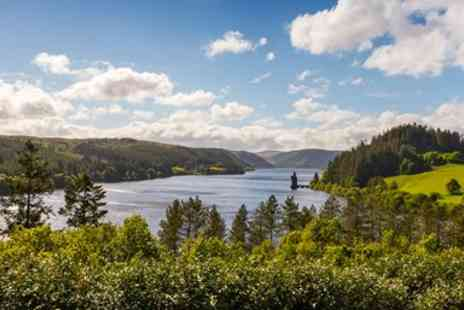 Lake Vyrnwy Hotel & Spa - Afternoon Tea & Bubbly for 2 with Lake Views - Save 46%