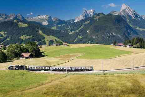 Weekender Breaks - Two or three night Swiss getaway with chocolate or cheese train experience - Save 21%