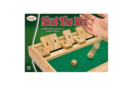 Ckent - Shut the Box dice game - Save 50%