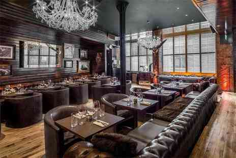 McQueen - Brunch for two including bottomless bubbly - Save 57%