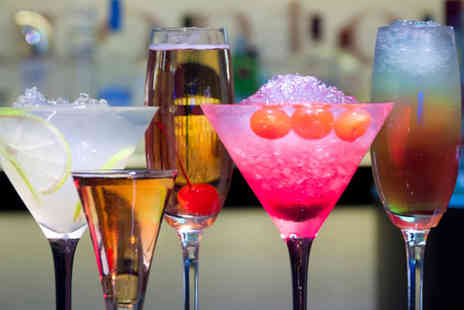 One Up - Four mix and match cocktails with nibbles for two - Save 67%