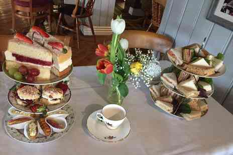 Elwes Arms - Afternoon tea for two including a mini bottle of Prosecco each - Save 48%