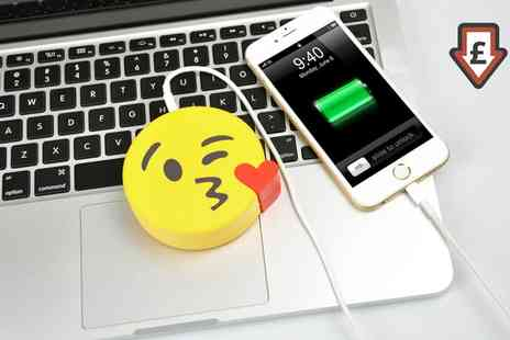 Groupon Goods Global GmbH - Emoji Power Bank in Choice of Design - Save 86%