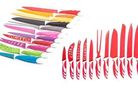 Groupon Goods Global GmbH - 12 Piece Knife Set - Save 0%