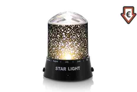 Groupon Goods Global GmbH - Multicoloured Star Projector Light - Save 60%