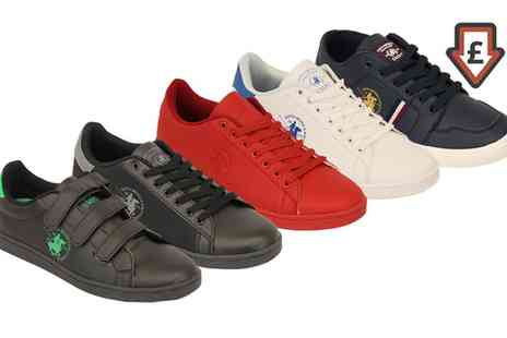 Groupon Goods Global GmbH - Mens Lace Up Santa Monica Polo Club Pumps - Save 0%