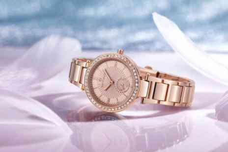 Deal Of Fame - Timothy Stone Elle Womens Watch with Crystals from Swarovski With Free Delivery - Save 83%