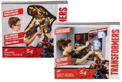 Groupon Goods Global GmbH - 54 Piece Transformers Wall Puzzles - Save 47%