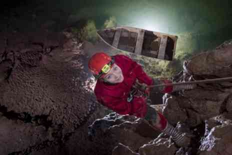Wookey Hole Caves - VIP Caving Experience for One or Two - Save 50%