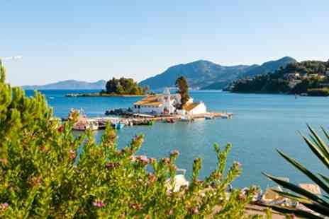Tour Center - All Inclusive 4 Star Corfu Getaway with Flights - Save 0%