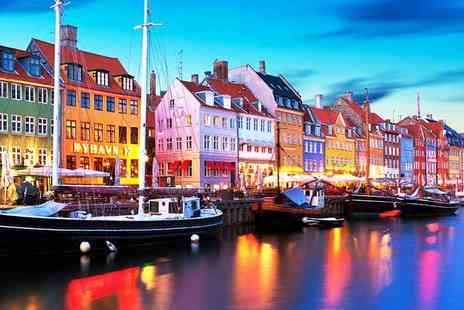 Crystal Travel - Two or three night Copenhagen stay and flights or include breakfast - Save 33%