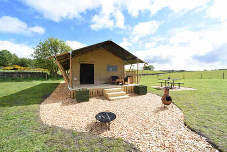 Carrs Hill - Two or three night glamping stay - Save 34%