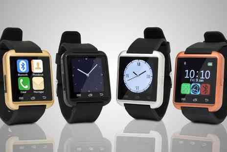 Groupon Goods Global GmbH - Bluetooth Smart Watch One or Two - Save 78%