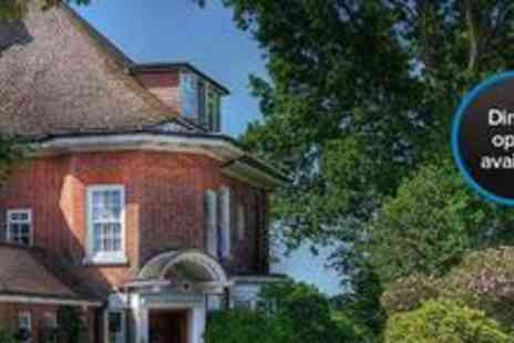 Sway Manor Hotel & Restaurant - One night stay for two, including a cooked breakfast and two-course meal, at Sway Manor Hotel in the New Forest - Save 64%