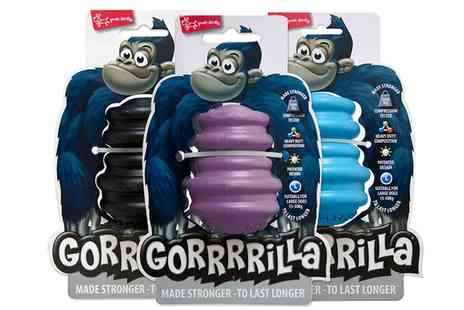 Groupon Goods Global GmbH - Pet Brands Gorrrrilla Treat Release Toy - Save 0%