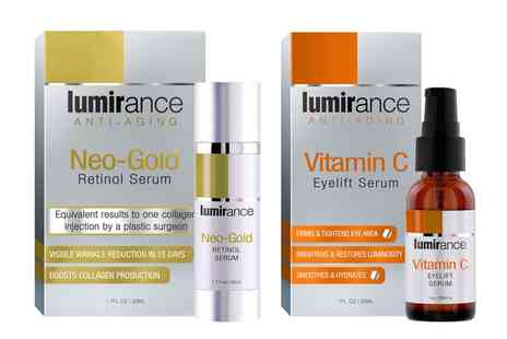 Groupon Goods Global GmbH - One Retinol Serum or Vitamin C Choose from Two Pack or Both- Save 67%