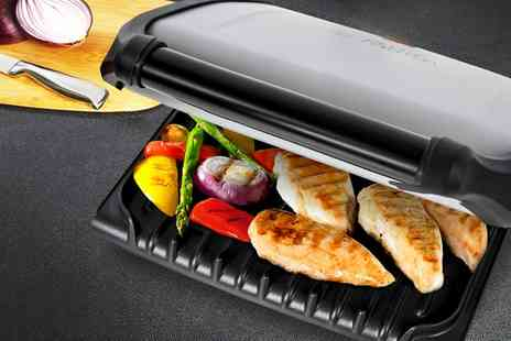 Groupon Goods Global GmbH - George Foreman Five-Portion Family Grill - Save 57%