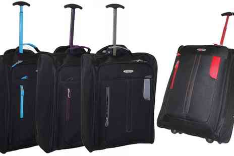 Groupon Goods Global GmbH - Lightweight Wheeled Cabin Suitcase - Save 74%