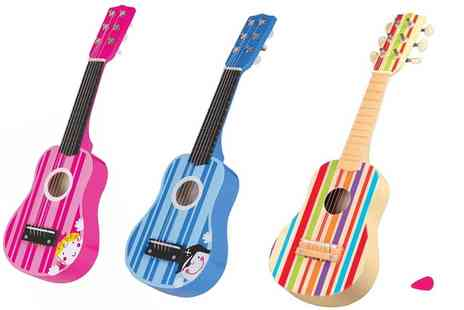 Groupon Goods Global GmbH - Lelin Childrens Wooden Guitar - Save 50%