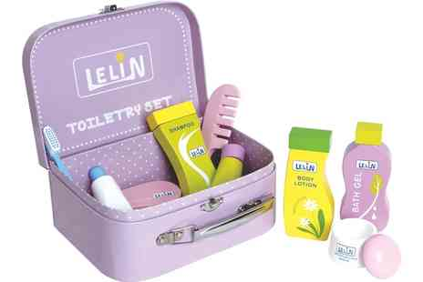 Groupon Goods Global GmbH - Lelin Nine Piece Toiletry Set - Save 60%