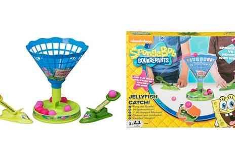 Groupon Goods Global GmbH - SpongeBob SquarePants Jellyfish Catch Game - Save 0%