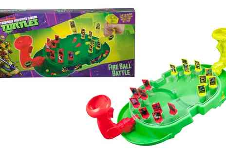 Groupon Goods Global GmbH - Teenage Mutant Ninja Turtles Fire Ball Battle Game - Save 18%