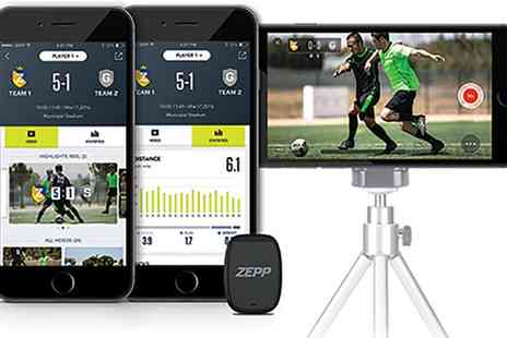 Groupon Goods Global GmbH - Zepp Play Football Sports Tracker With Free Delivery - Save 0%