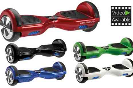 Groupon Goods Global GmbH - AeroBoard UK Certified Hoverboard with LG Battery & Carry Bag or Without Bag Include Free Delivery - Save 45%