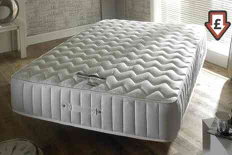 Groupon Goods Global GmbH - Imperial 3500 Memory Foam and Pocket Sprung Mattress With Free Delivery - Save 82%