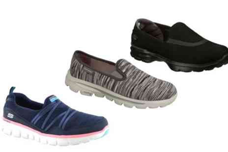 Groupon Goods Global GmbH - Skechers Womens Trainers - Save 0%