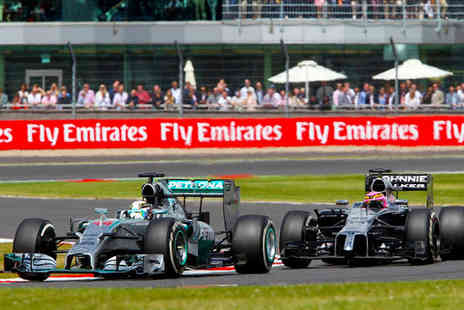 Force India 2017 British Grand Prix - Thrilling Grand Prix & Hotel Stay - Save 0%