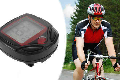 Black Sheep - LCD Bicycle Speedometer or Odometer - Save 65%