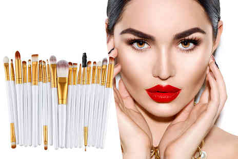 Forever Cosmetics - 20 eye makeup brushes - Save 81%