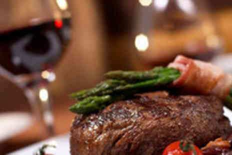 Kings Road Steakhouse - Two mains, two desserts and two champagne cocktails - Save 56%